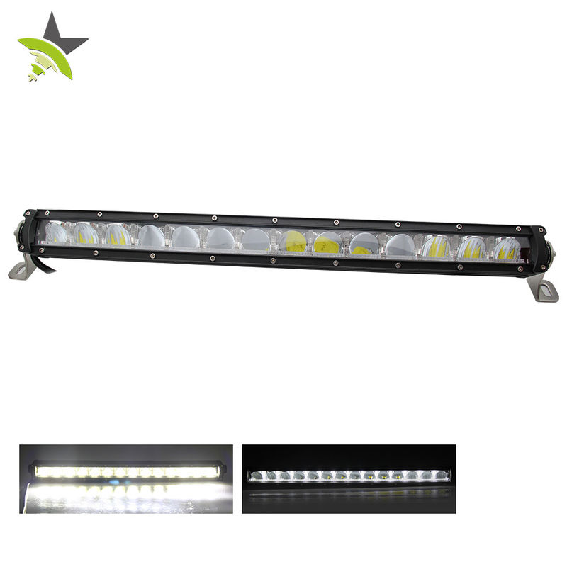12 V 24 V 22 Inch Single Row Light Bar Driving Beam 50000 H Life Time